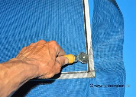 Comment reparer un grillage for Reparer une fenetre