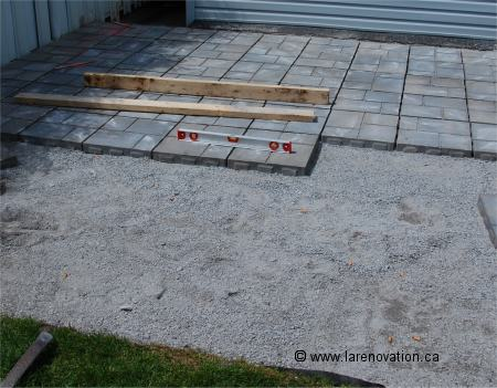 Faire Un Patio En Dalles De Ciment