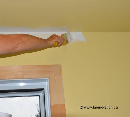 Comment Faire Pour Peindre Un Plafond comment faire le découpage de peinture