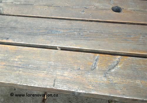 R nover du bois ext rieur recouvert de vernis - Enlever vernis bois ...