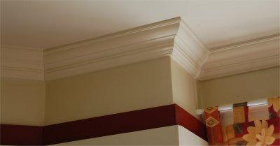 Les Ogee Pour Décorer Les Plafonds - Moulure plafond salle de bain