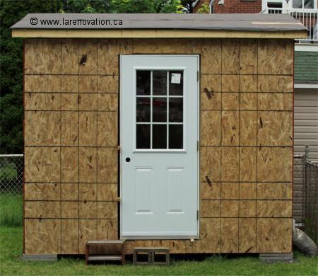 Construire une cabane de jardin for Porte de cabane de jardin