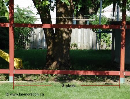 Comment installer une clôture de maison en bois