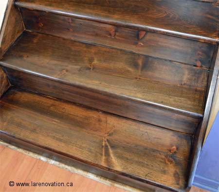 Comment r nover le rev tement d 39 un escalier en bois - Comment refaire des escaliers ...