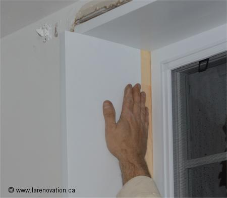 Faire l 39 installation d 39 une fen tre de pvc for Pose d une fenetre pvc en renovation