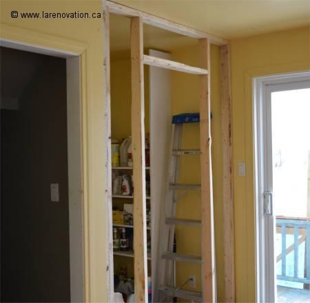 la construction ou r novation d 39 un mur. Black Bedroom Furniture Sets. Home Design Ideas