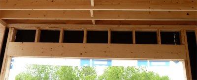 L 39 ouverture d 39 une porte dans un mur - Porte de garage sans retombee de linteau ...
