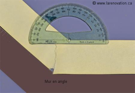 Faire le calcul d 39 angles - Comment couper un angle a 45 degres ...