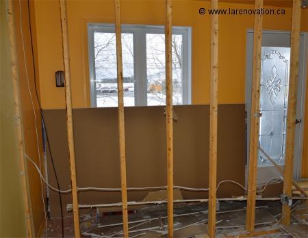 Enlever un mur int rieur for Enduire un mur en parpaing interieur