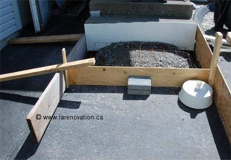 Pin coffrage de dalle mevadec meva schalungs systeme on pinterest - Comment faire du beton lisse ...