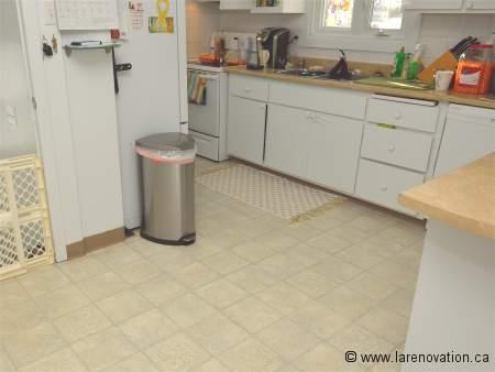 Les rev tements de sol pour la cuisine for Sol vinyle pour cuisine