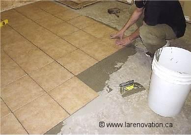 Faire la r novation d 39 un plancher de salle de bain for Sol salle de bain plancher bois