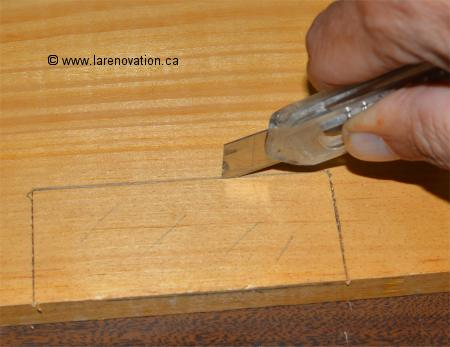 Comment installer une penture de porte - Comment renover une porte interieure ...