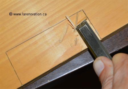 Comment Installer Une Penture De Porte