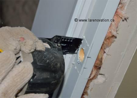 13 installation porte coulissante dans le mur paris - Comment enlever un encadrement de porte ...