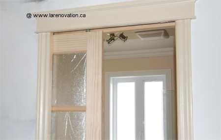 Les portes coulissantes for Installation porte coulissante dans le mur