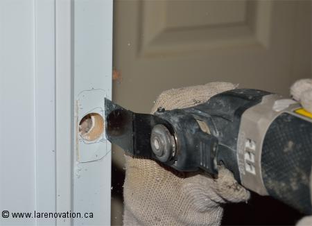 Comment installer une serrure de porte d 39 entr e - Comment isoler une porte d entree du bruit ...