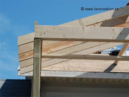 construire un toit sur mesure